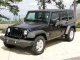 2010 Jeep Wrangler Unlimited Black