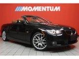 2008 Jet Black BMW 3 Series 328i Convertible #46183713