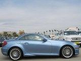 2011 Mercedes-Benz SLK Quartz Blue Metallic