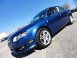 2008 Ocean Blue Pearl Effect Audi A4 2.0T S-Line Sedan #46183134