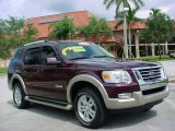 2006 Dark Cherry Metallic Ford Explorer Eddie Bauer #441574