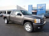 2011 Taupe Gray Metallic Chevrolet Silverado 1500 LT Extended Cab 4x4 #46183394