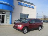 2008 Tango Red Pearl Honda CR-V EX 4WD #46183160