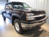 2005 Black Chevrolet Silverado 1500 Z71 Crew Cab 4x4 #46183767