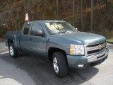 2009 Blue Granite Metallic Chevrolet Silverado 1500 LT Extended Cab #46183987