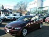 2007 Barrique Red Metallic BMW 3 Series 328xi Sedan #46183208