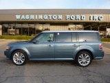 2010 Steel Blue Metallic Ford Flex SEL EcoBoost AWD #46244306