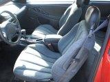 2003 Chevrolet Cavalier Coupe Graphite Gray Interior