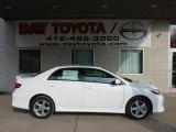 2011 Super White Toyota Corolla S #46243819
