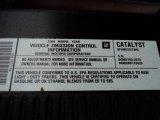 2008 Chevrolet Silverado 1500 LT Extended Cab Info Tag