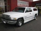 1999 Bright White Dodge Ram 1500 SLT Extended Cab #46244353