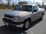 2003 Light Pewter Metallic Chevrolet Silverado 1500 Regular Cab #46244591