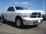 2010 Stone White Dodge Ram 1500 SLT Quad Cab 4x4 #46244366