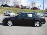 2011 Tuxedo Black Metallic Ford Fusion SE #46243856