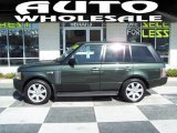 Tonga Green Pearl Land Rover Range Rover in 2007
