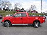 2011 Race Red Ford F150 XLT SuperCab 4x4 #46243860