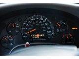 2005 Chevrolet Astro LS Passenger Van Gauges