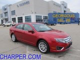 2010 Sangria Red Metallic Ford Fusion SEL V6 #46243669