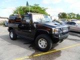 2003 Black Hummer H2 SUV #46244654