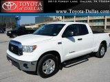 2008 Super White Toyota Tundra SR5 Double Cab #46243909