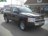 2009 Black Chevrolet Silverado 1500 LS Regular Cab 4x4 #46244146