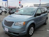 2010 Clearwater Blue Pearl Chrysler Town & Country LX #46244705