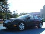 2011 Tuxedo Black Metallic Ford Fusion SE #46243966