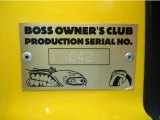 2005 Ford F150 Boss 5.4 SuperCab 4x4 Info Tag