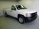 2011 Summit White Chevrolet Silverado 1500 Regular Cab #46244470