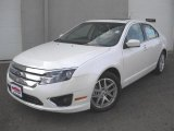 2011 White Platinum Tri-Coat Ford Fusion SEL V6 #46243709