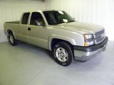 2005 Silver Birch Metallic Chevrolet Silverado 1500 Z71 Extended Cab 4x4 #46244475