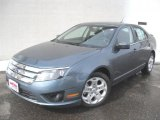 2011 Steel Blue Metallic Ford Fusion SE #46243713