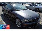 2005 Sparkling Graphite Metallic BMW 3 Series 330i Convertible #46244185