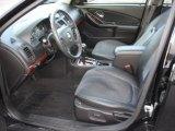 2007 Chevrolet Malibu LTZ Sedan Ebony Black Interior