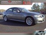 2009 Space Grey Metallic BMW 3 Series 328xi Sedan #46244507