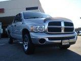 2005 Bright Silver Metallic Dodge Ram 1500 SLT Quad Cab 4x4 #46244513