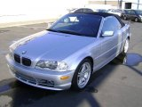 2003 Titanium Silver Metallic BMW 3 Series 330i Convertible #4621949