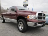 2003 Dark Garnet Red Pearl Dodge Ram 1500 SLT Quad Cab 4x4 #46244221