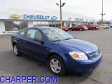 2007 Laser Blue Metallic Chevrolet Cobalt LS Coupe #46244772