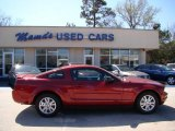 2007 Redfire Metallic Ford Mustang V6 Deluxe Coupe #46244251