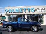 2008 Patriot Blue Pearl Dodge Ram 1500 SXT Regular Cab #46244255