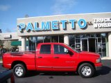 2002 Flame Red Dodge Ram 1500 SLT Quad Cab #46244257