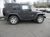 2010 Dark Charcoal Pearl Jeep Wrangler Sahara 4x4 #46244277