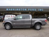 2011 Sterling Grey Metallic Ford F150 Lariat SuperCrew 4x4 #46244290