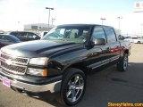 2007 Black Chevrolet Silverado 1500 Classic LS Crew Cab 4x4 #46243792