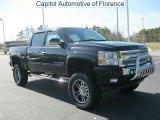 2011 Black Chevrolet Silverado 1500 LT Crew Cab 4x4 #46318295