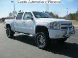 2011 Summit White Chevrolet Silverado 1500 LT Crew Cab 4x4 #46318296