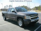 2011 Taupe Gray Metallic Chevrolet Silverado 1500 LS Extended Cab #46318298