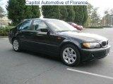 2002 Jet Black BMW 3 Series 325i Sedan #46318299