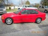1997 Bright Red BMW 3 Series 328i Sedan #46318107